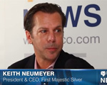 Kitco News interview with Keith Neumeyer
